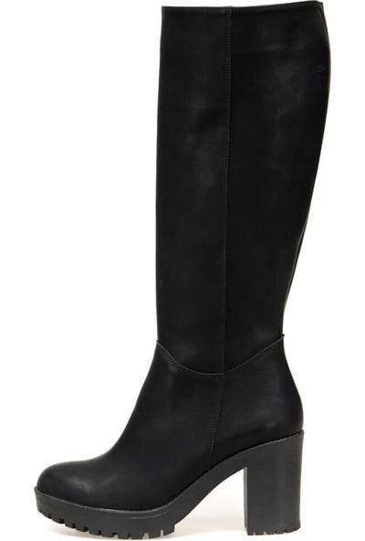 Butigo 19K-407 Siyah Kadın Çizme 36