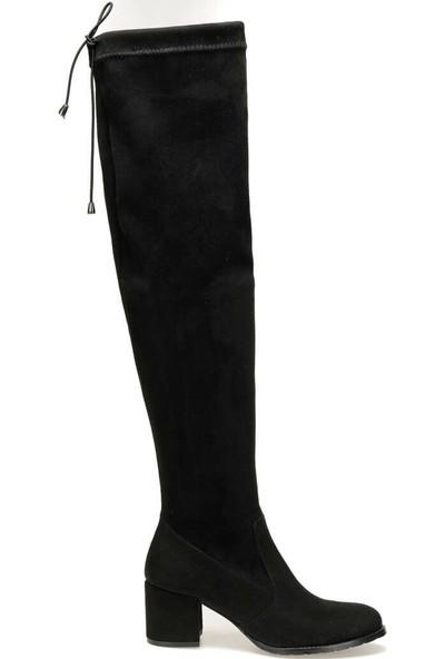 Butigo 18K-414-19K Siyah Kadın Çizme 39