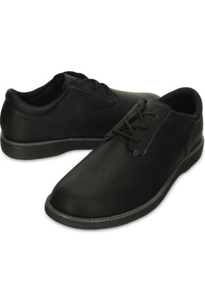 Crocs Traveler Lace-Up Siyah Erkek Loafer Ayakkabı 39-40