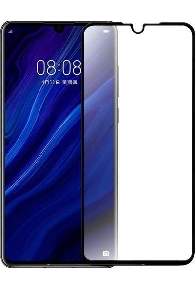Syronix Panther Huawei P30 Tam Kaplayan 10D Ekran Koruyucu + Silikon Kılıf
