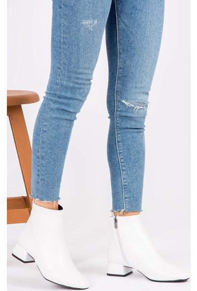 Fox Shoes Beyaz Kadın Bot G922777709
