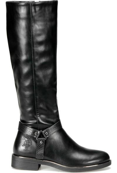 U.S Polo Assn. Olıvıa 9Pr Siyah Kadın Çizme 36