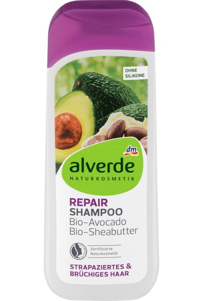 Alverde Silikonsuz Vegan Avokado Özlü Şampuan 200 ml