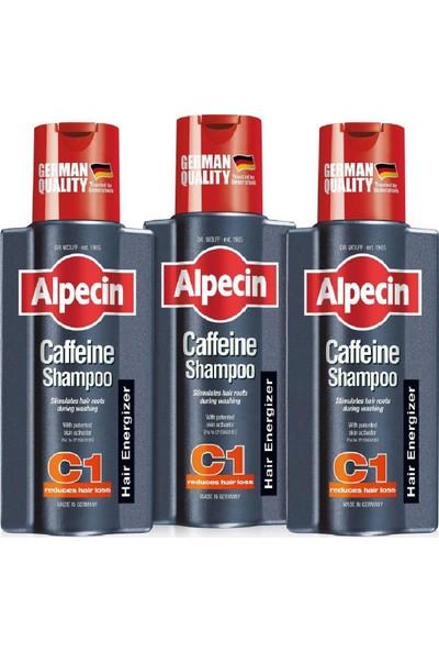 Alpecin Coffein Dökülme Karşıtı Kafein 3x Şampuan C1, 250 ml