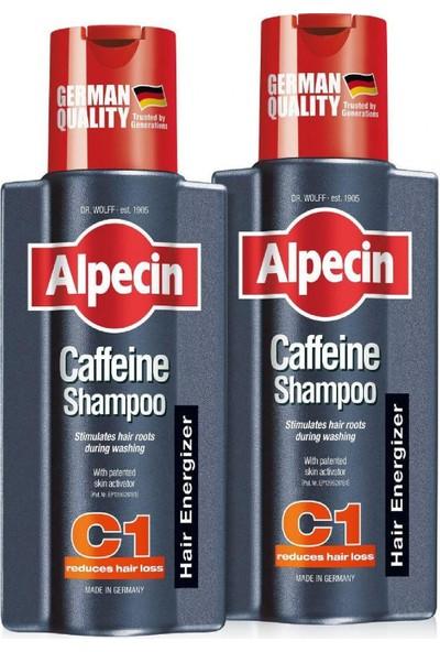 Alpecin Coffein Dökülme Karşıtı Kafein Şampuan C1 - 2 x 250 ml