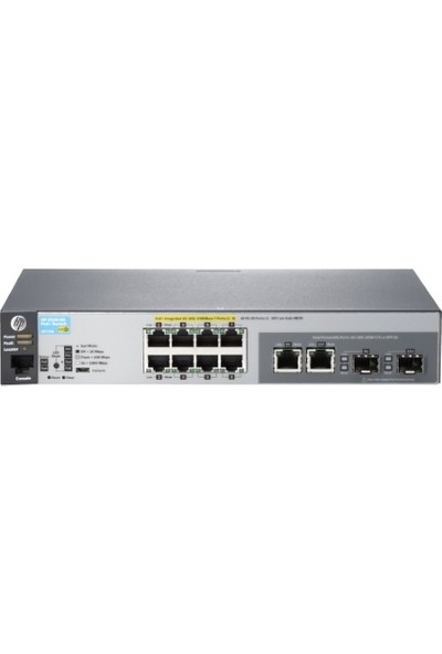 HP J9774A 2530-8G 8Port Poe Gigabit Switch