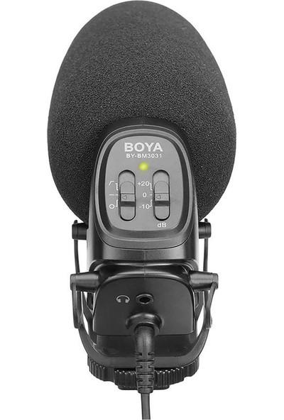 Boya BY-BM3031 Ses Kayıt Cihazı Uyumlu Mikrofon