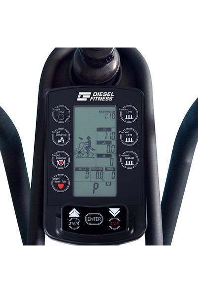 Diesel Fitness W200 Air Bike Hava Dirençli Kondisyon Bisikleti