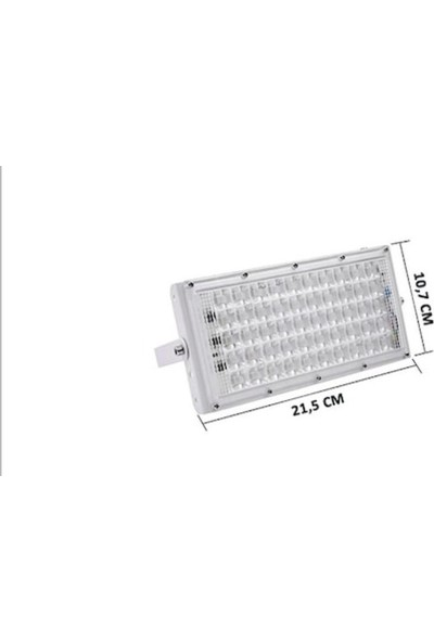 LED Pazarı Rgb LED Projektör 50W Kumandalı