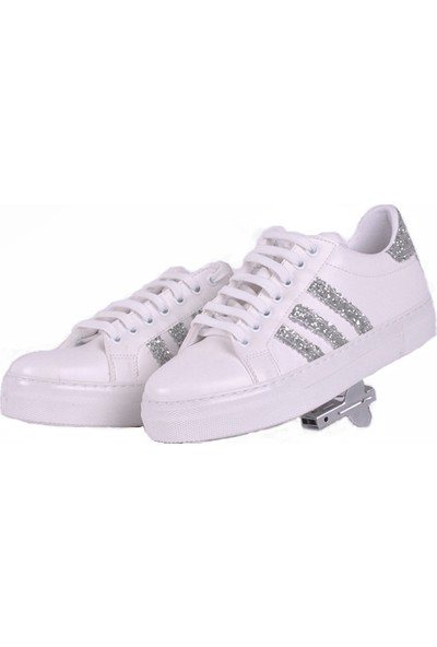 Hotanto Luca Gümüş Vegan Sneaker