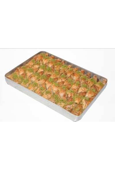 Hüseyinoğlu Baklava-Börek Antep Fıstıklı Şöbiyet Küçük Tepsi 2 kg