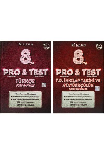 Bilfen Yayınları 8. Sınıf LGS Pro & Test Soru Bankası Seti 2 Kitap