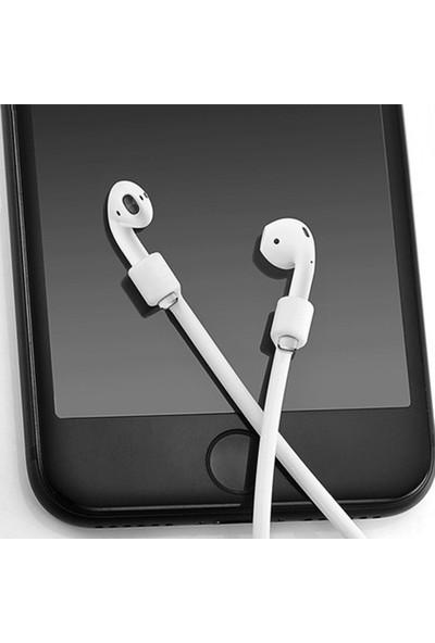 Handle Apple Airpod Silikon Kulaklık Askısı Beyaz