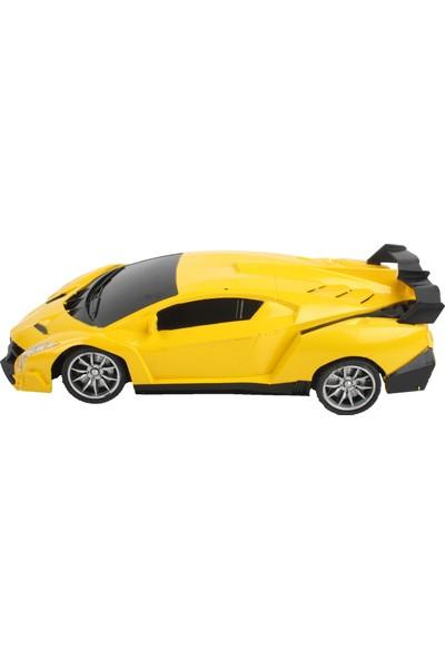 Pasifik Toys High Speed 1/24 Pilli Uzaktan Kumandalı Araba - Sarı