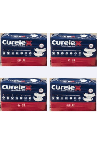 Curelex L Beden 120 Adet + Ficomed Şampuanlı Vücut Temizleme Lifi