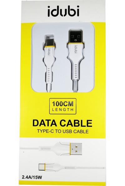 Idubi Type-C 2.4A 15W Hızlı Şarj Kablosu