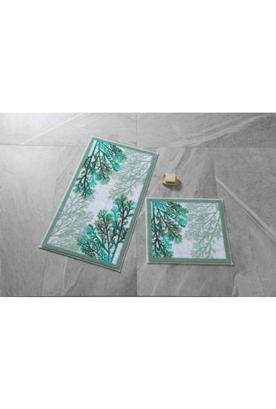 Confetti 2'li Klozet Takımı Coral Yeşil