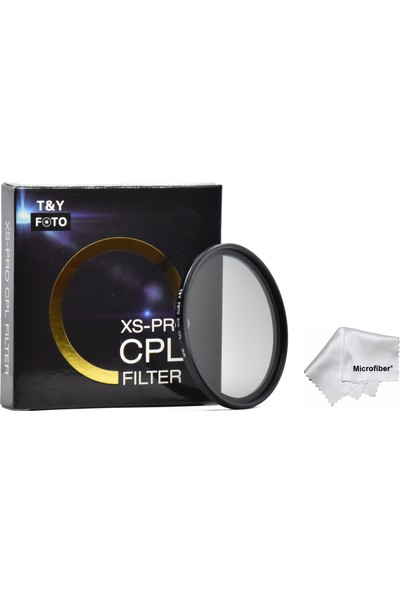 Tianya 77Mm XS-PRO Slim Cir Cpl Circular Dairesel Polarize Filtre