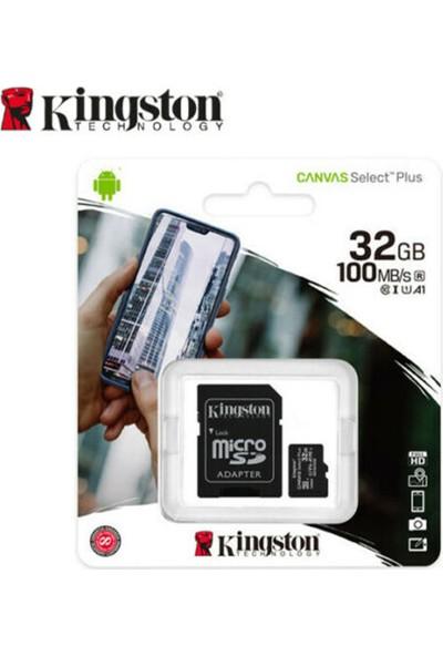 Kingston 32GB MicroSDHC Canvas Select Plus Hafıza Kartı SDCS2/32GB