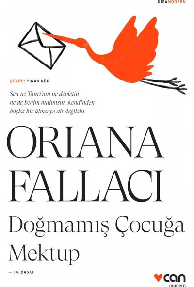 Doğmamış Çocuğa Mektup - Oriana Fallacı