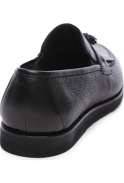 Kemal Tanca Erkek Deri Loafer Ayakkabı 554 2608 Ev Erk Ayk Y19