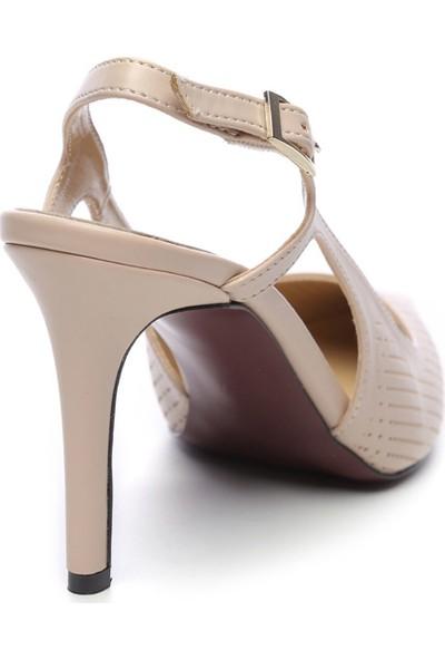 Kemal Tanca Kadın Vegan Stiletto Ayakkabı 22 6253 Bn Ayk Y19