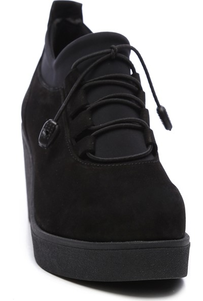 Kemal Tanca Kadın Deri Dolgu Topuklu Ayakkabı 231 53 Bn Ayk