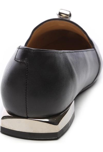 Kemal Tanca Kadın Deri Babet Ayakkabı 94 1155 Bn Ayk Sk19-20