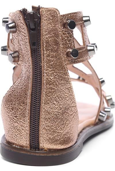 Kemal Tanca Kadın Deri Sandalet Sandalet 169 51170 Bn Sndlt