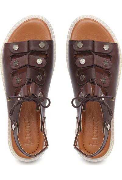 Kemal Tanca Kadın Deri Sandalet Sandalet 169 51904 Bn Sndlt