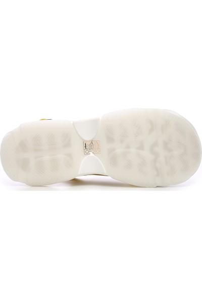 Kemal Tanca Kadın Vegan Sandalet Sandalet