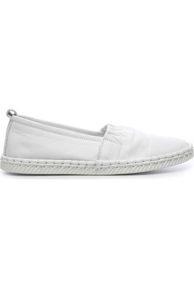 Kemal Tanca Kadın Deri Loafer Ayakkabı 726 305 Bn Ayk Y19
