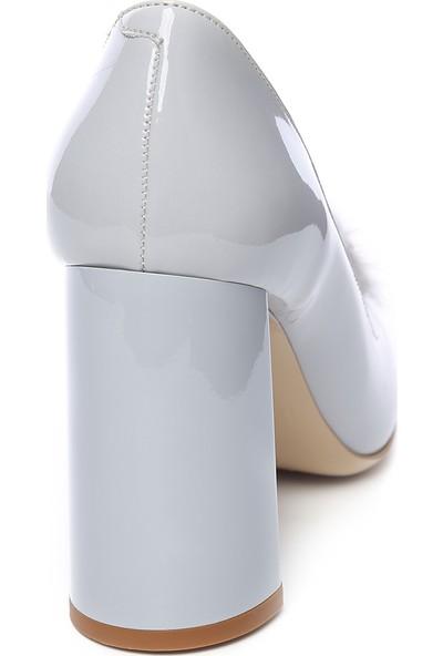 Kemal Tanca Kadın Kalin Topuklu Ayakkabı 613 23251 Byn Ayk