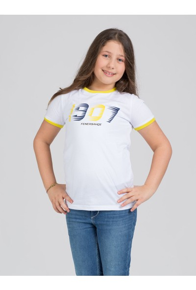 Fenerium Çocuk Tribün 1907 Kontrastlı T-Shirt