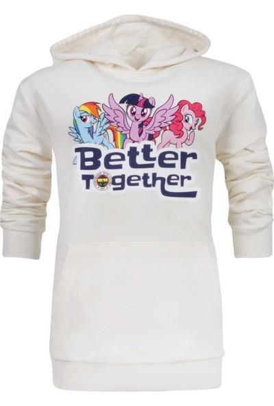 Fenerium Pony Better Together Beyaz Sweatshirt