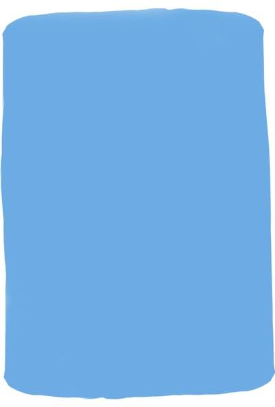 Linens Blue Mix And Match Düz Çarşaf Tek Kişilik