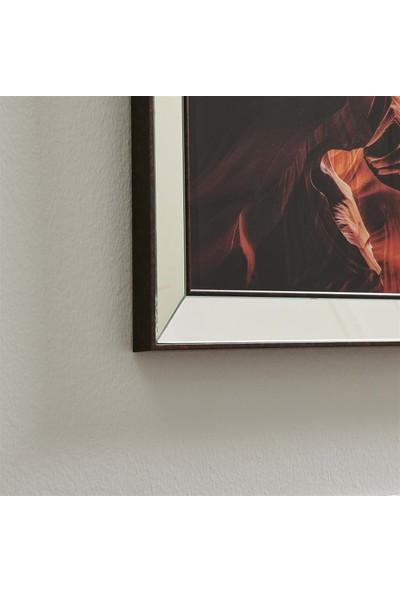 NeoStill Ayna Çerçeveli Tablo Temperli Cama Uv Baskı T702