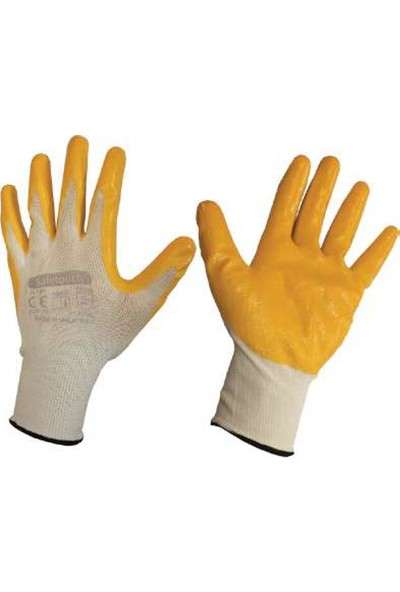 Safetouch NT01 Nitril Polyester Eldiven