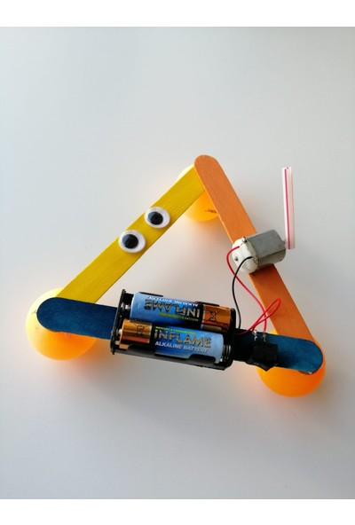 Alpgen Robotics Zıplayan Robot Stem Kiti