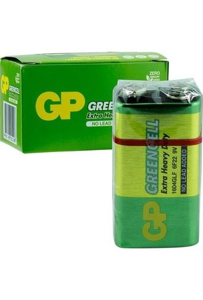 Gp Greencell 9V Pil 10'lu