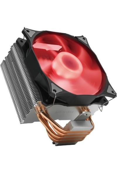 Reeven E12 120 mm RGB Intel ve AMD Uyumlu İşlemci Soğutucusu