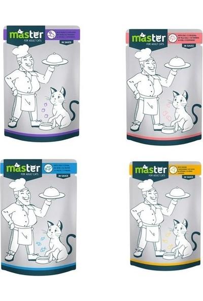 Master Karma Kedi Maması 80 g x 24 Adet