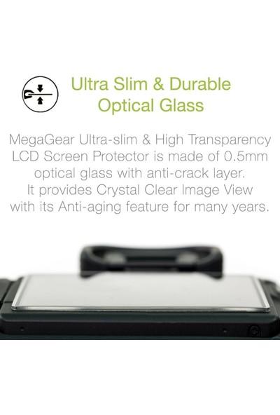 Megagear MG1746 Kamera LCD Optik Powershot G5X Mark II Fotoğraf Makinesi Ekran Koruyucu