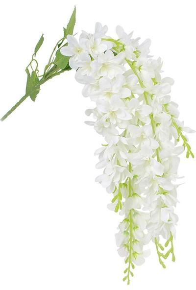 Çiçekmisin Beş Dal Yapay Sarkan Akasya