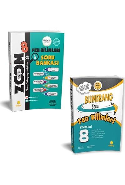 8. Sınıf LGS Hazırlık Bumerang ve Zoom Serisi 2'li Set Fen Bilimleri