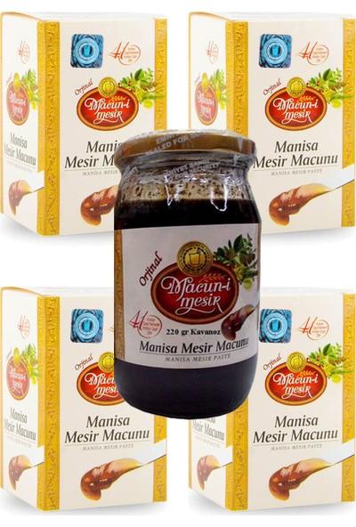 Macun-I Mesir Manisa Mesir Macunu 220 gr Cam Kavanoz 5 Li Avantaj Paketi