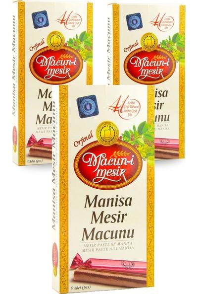 Macun-i Mesir Hilser Macun-I Mesir Manisa Mesir Macunu 5 Li Çubuk 3 Lü Avantaj Paketi