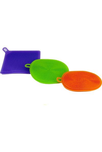 Better Sponge Anti Bakteriyel Silikon Bulaşık Süngeri (3'lü Paket) Yeni Nesil, Bulaşık Makinası Nda Bulaşık Yıkamak Istemeyeceksiniz.