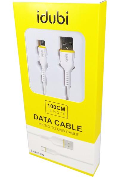 Idubi 2.4A / 15W Micro USB Hızlı Şarj ve Data Kablosu