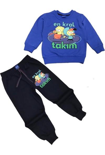 Tarz Kids Kral Takım Mevsimlik Erkek Çocuk Eşofman Takımlar